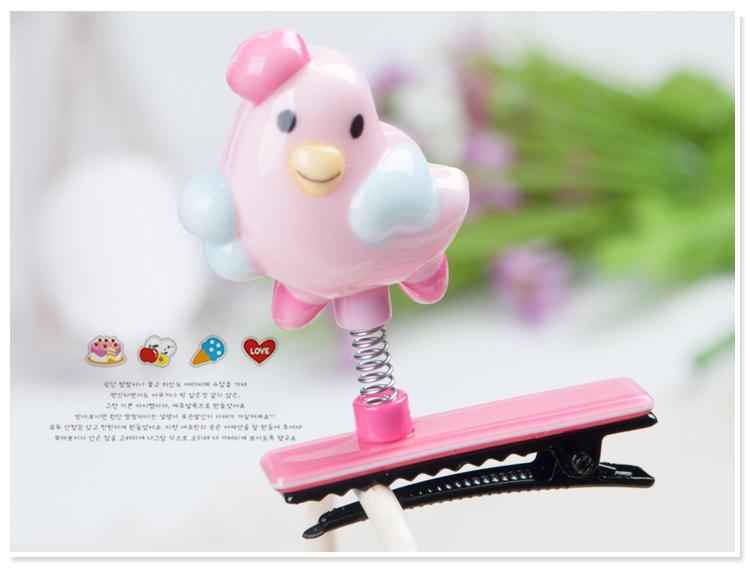 5粉色小鸡鸭嘴夹JS04170518